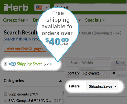 Iherb Free Shipping Offer